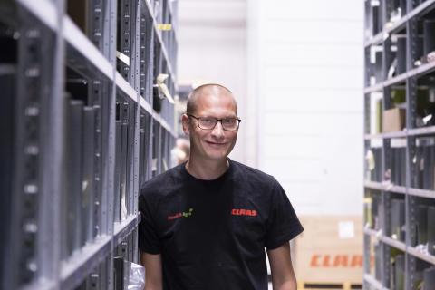 Lagerchef Johan Lindskog