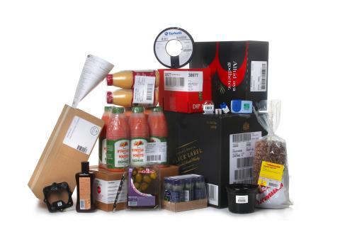 Märkning av olika produkter