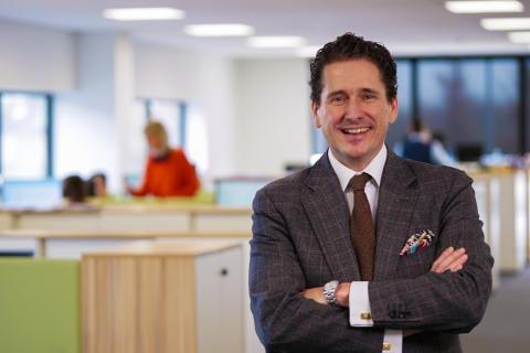 Ernesto Domínguez - ny VD och koncernchef för Toyota Material Handling Europe