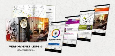 """""""Verborgenes Leipzig.Tipps abseits bekannter Wege""""- der Stadtführer als Buch, Website & App"""