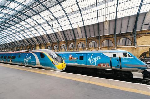 Virgin Train East Coast meets West Coast