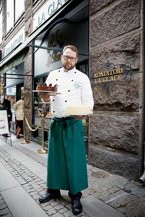 Chefkonditorens private madværksted
