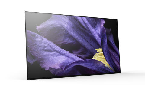 Sony wprowadza pierwsze telewizory 4K HDR z nowej serii MASTER:  modele OLED AF9 i LCD ZF9 zapewniające nadzwyczajną jakość obrazu