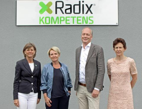 Tidigare generaldirektören Pia Enochsson tar plats i Radix Kompetens styrelse