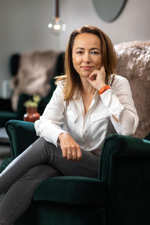 3_CEO Maria Hedengren. Spring 2019. Photocredit Readly and Magnus Glans