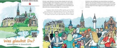 """Ihre Stimme zählt!  Jetzt für das Kinderbuch """"""""Was glaubst Du? – Weltreligionen in Grevenbroich"""" abstimmen!"""