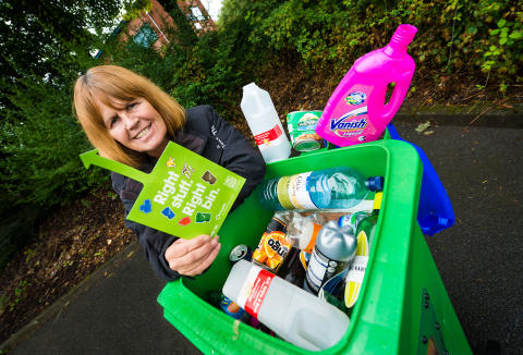 Pilot bin scheme saves taxpayers £ 22,500