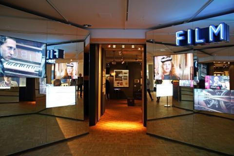 Eingangsbereich zur Ausstellung