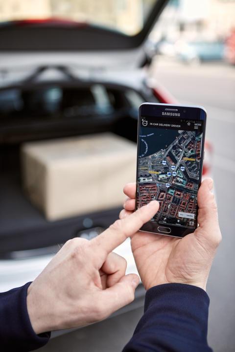 Volvo On Call i Smartphone