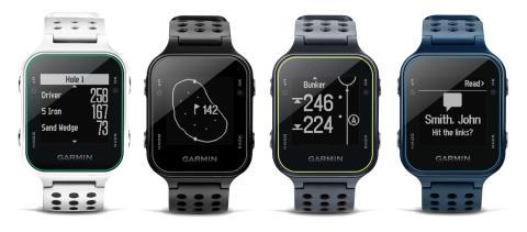 Garmin Approach S20 – ny, stilig GPS-golfklokke med AutoShot