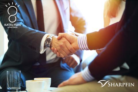 Katalysen & Partners fördjupar samarbete med Sharpfin
