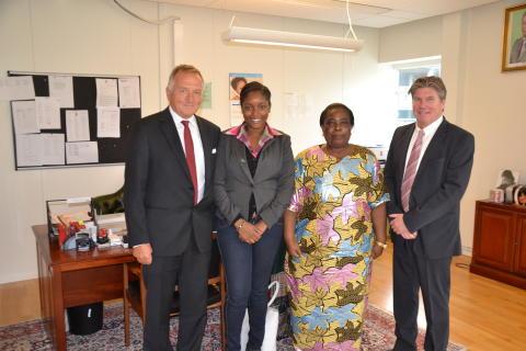 Zambias ambassadör besöker Lidköping