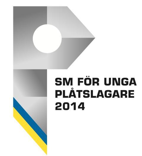 Logo: SM för unga plåtslagare 2014