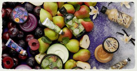 Mød julens nye dufte - Juicy Pear, Rich Plum & Warm Vanilla