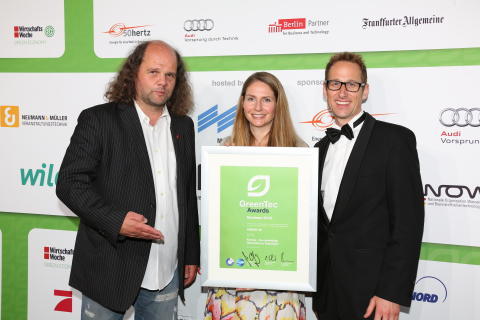 Kebony unter Top 3 bei GreenTec Awards