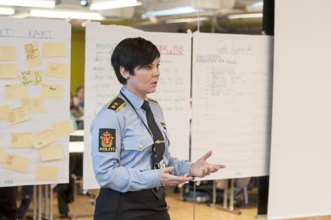 Anne Katrin Storveen, Oslo Politi