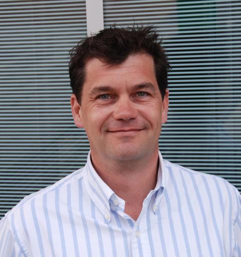 Sponsorsjef Petter Svendsen