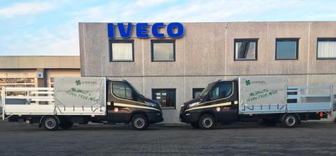 Støjsvage hybridbiler fra IVECO henter storskrald i hjertet af Aarhus