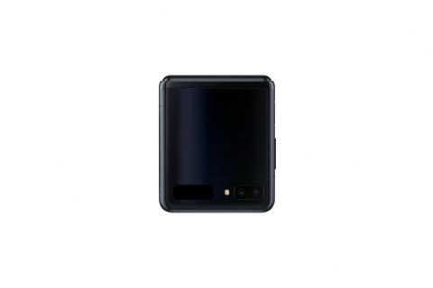 Samsung Galaxy Z Flip_closed front_black mirror