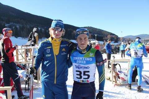 Peppe Femling och Simon Hallström