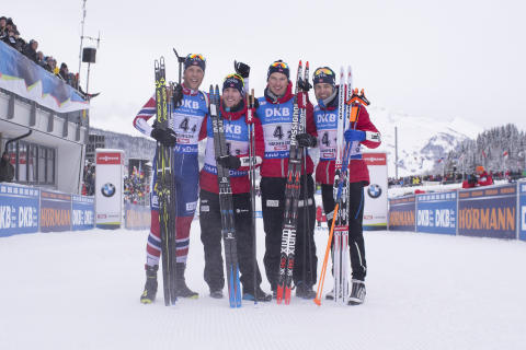 Laguttak WC Le Grand-Bornand og IBU Cup Obertilliach