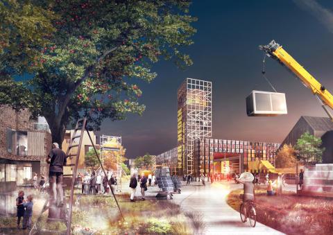 Arkitema Architects afleverer visionært bud på Fremtidens Forstad i Hedehusene