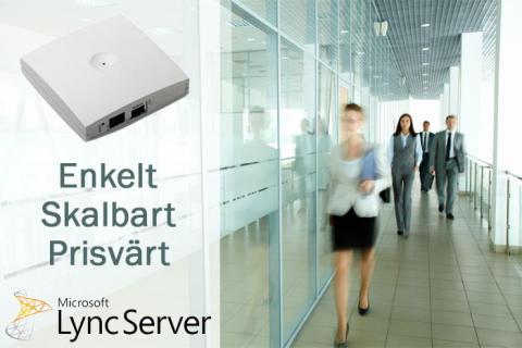 Nyhet! Trådlös kommunikation certifierad för Microsoft Lync!