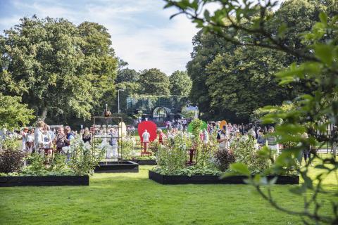 Inbjudan till pressvisning av Den stora Trädgårdsfesten i Helsingborg