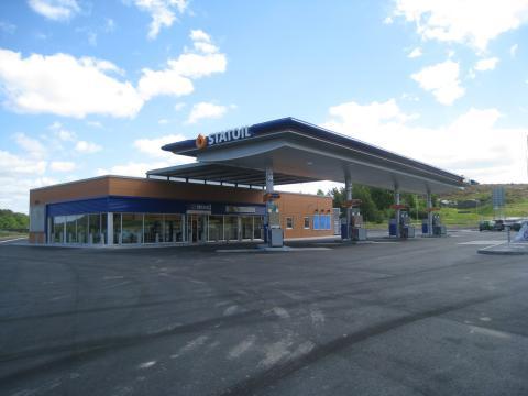 Idag inviger Statoil sin nya fullservicestation i Strömstad