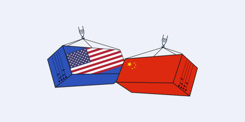 Sourcing Allies trade shipping between China and USA United States of America