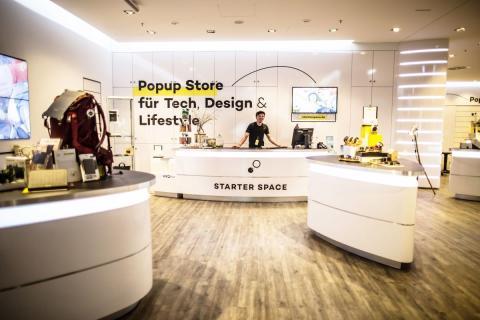 """""""Starter Space"""" Popup Store in den Höfen am Brühl"""