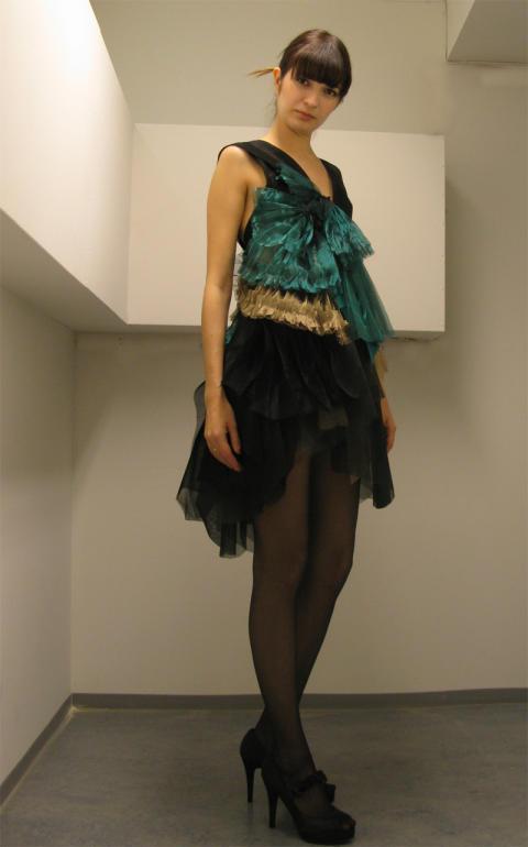 Helene Hjellens kjole