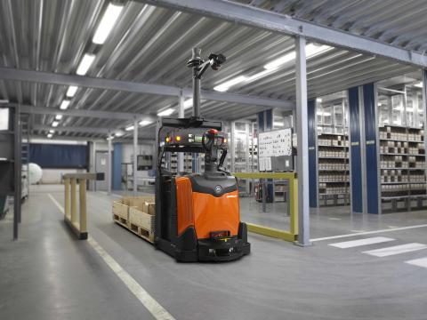 Autopilot-automaattitrukeilla voidaan automatisoida tavaransiirtoja joustavasti ja riskittömästi