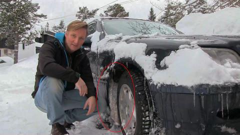 Så enkelt unngår du issvuller i hjulbuen!