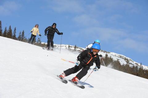 Billigt sportlov på Norges största skiddestination Hafjell-Kvitfjell