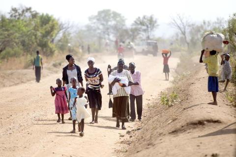 1 million flygtninge fra Sydsudan har søgt tilflugt i Uganda