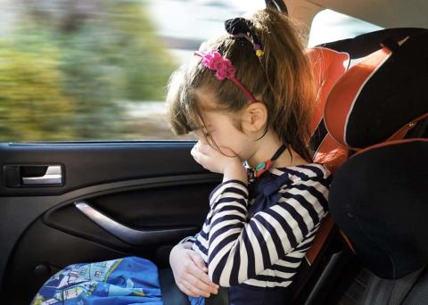 Fem gode råd mod køresyge