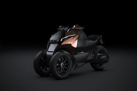Onyx Concept Scooter