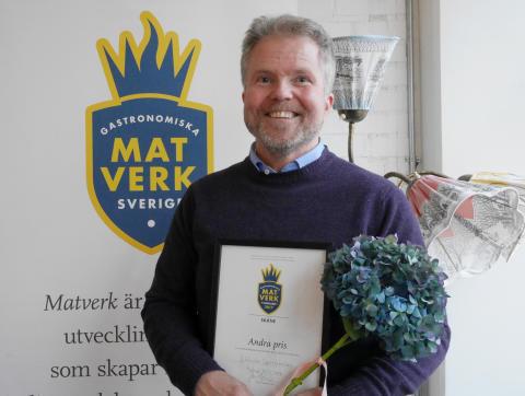 Andrapristagaren Jan Rothman från Skånska Spritfabriken