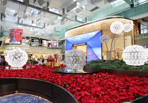Changi Airport unveils revamped T3 Central Piazza and highly anticipated Louis Vuitton duplex store