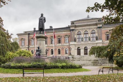 Uppsala universitetshus. Foto: Anders Fredriksén.