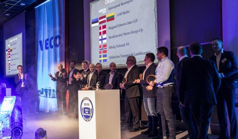 Kihlströms Transport och Lastbilscenter utsedd till årets IVECO-återförsäljare