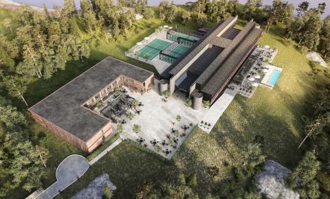 BRA Bygg har tecknat avtal om byggnation och renovering av BLUEHOTEL