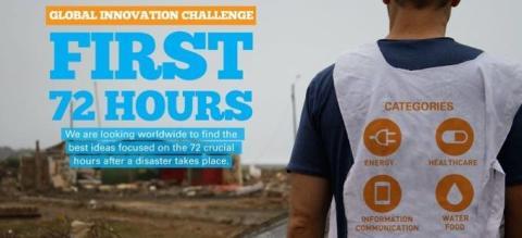 First 72 Hours – Har du en idé som kan förändra världen?
