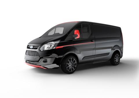 Ford esittelee Transit Custom Black Editionin sekä uusia Sport-erikoismalleja