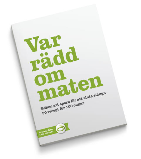 Svenskarna är mer rädda om maten 2011