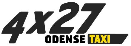 Logo Taxi 4x27 - Odense meget lille