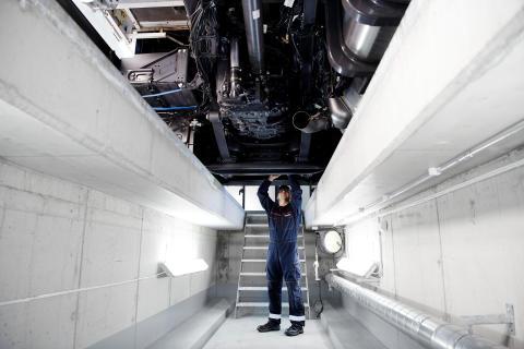 Scania Werkstatt Service