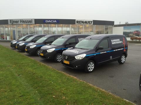 Dacia indtager Vendsyssel - 20 Dacia Dokker Van solgt til en kunde