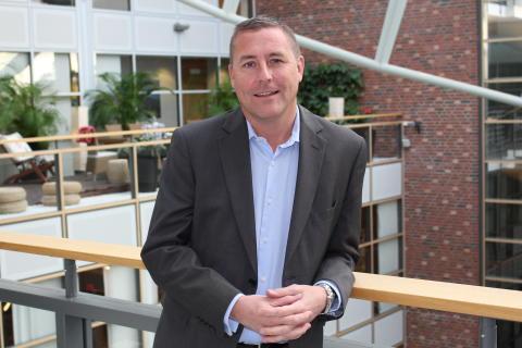 DHL Express Sverige har utsett Mike Cotter till ny försäljningschef